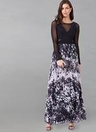 Arm Enhancing Under Dress Mesh Bolero, Black, hi-res
