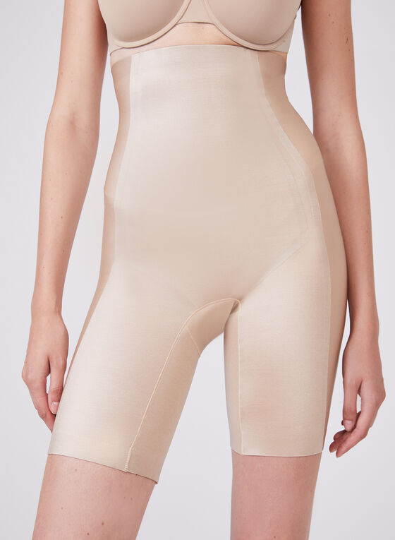Body Hush – High Waist Thigh Shaper, Off White, hi-res