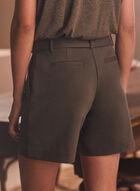 Shorts & Removable Belt, Green