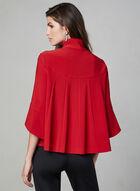 Joseph Ribkoff - Tulip Sleeve Jacket, Red