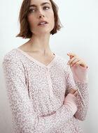 Animal Print Nightgown, Pink