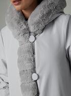 Nuage - Reversible Faux Fur Coat, Silver
