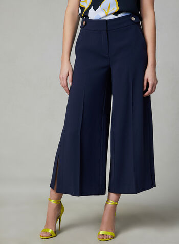 Soho Fit Culottes, Blue, hi-res,
