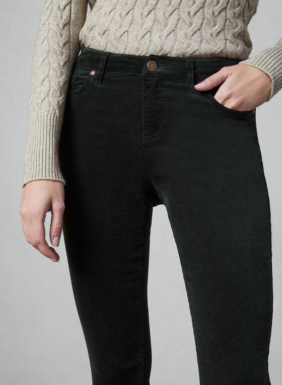 Vince Camuto - Pantalon en velours côtelé, Vert