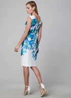 Joseph Ribkoff - Floral Print Dress, White, hi-res