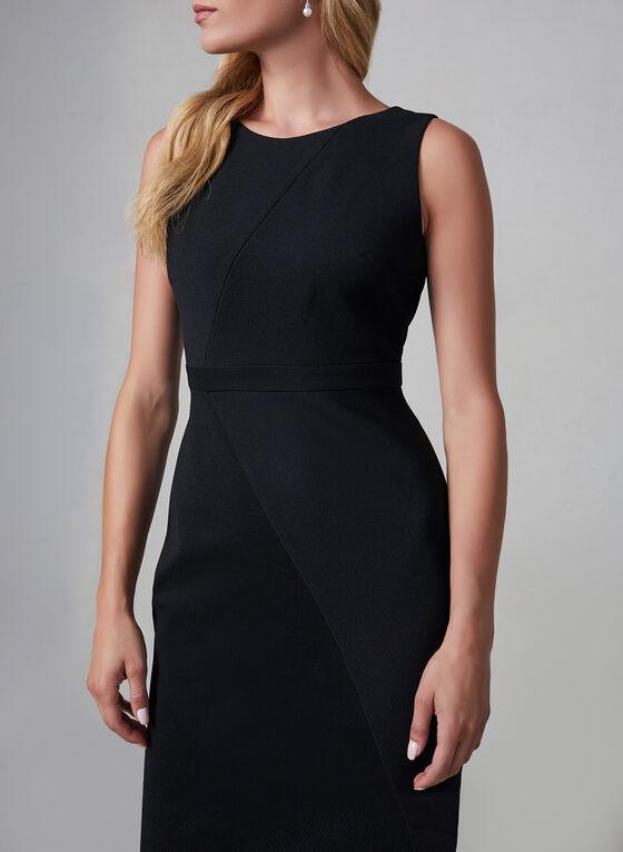 Adrianna Papell - Sleeveless Sheath Dress, Black, hi-res