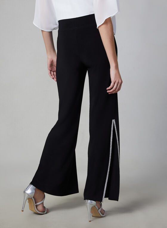 Joseph Ribkoff - Wide Leg Pants, Black