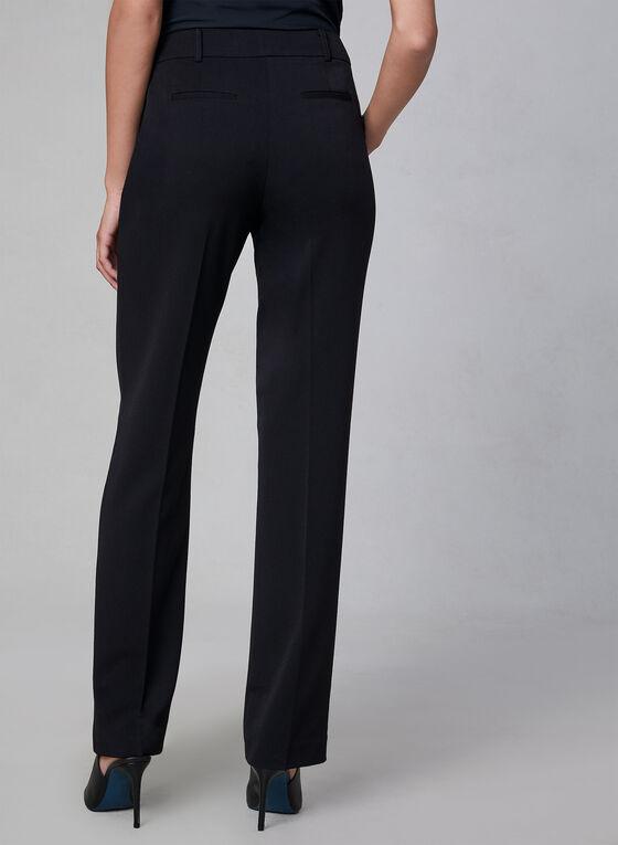Pantalon Lauren à jambe droite, Noir, hi-res