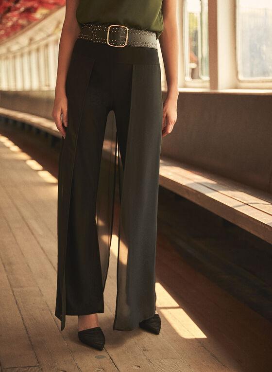 Joseph Ribkoff - Wide Leg Dress Pants, Black