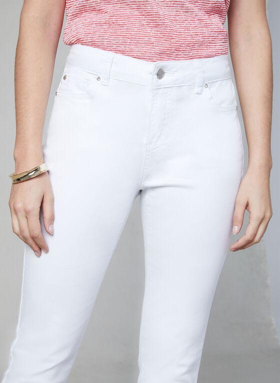 Slim Leg Jeans, White