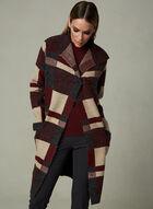 Alison Sheri - Cardigan à blocs de couleur , Rouge, hi-res