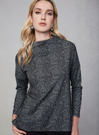 Linea Domani - Funnel Neck Top, Black