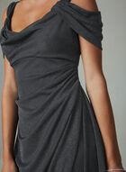 Ignite Evenings - Robe pailletée à épaules ajourées, Gris, hi-res