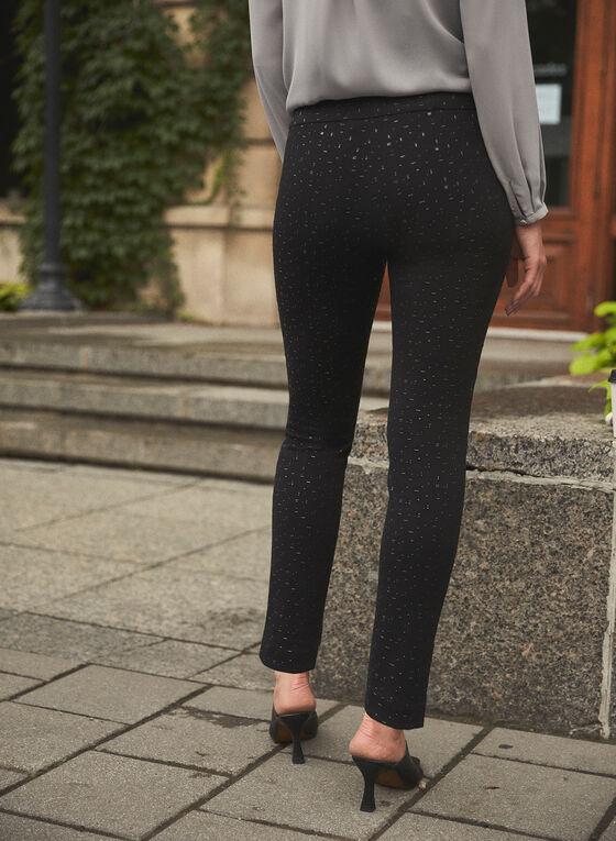 Joseph Ribkoff - Crystal Detail Pants, Black