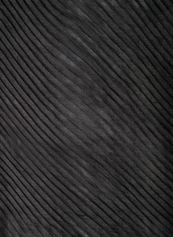 Vince Camuto - Foulard pashmina plissé, Noir, hi-res