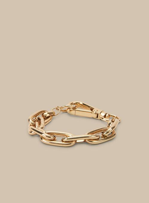 Bracelet à gros maillons, Or