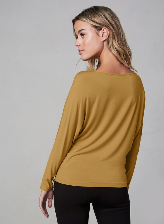 Dolman Sleeve Top , Gold