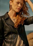 Vex - Zipper Detail Jacket, Black