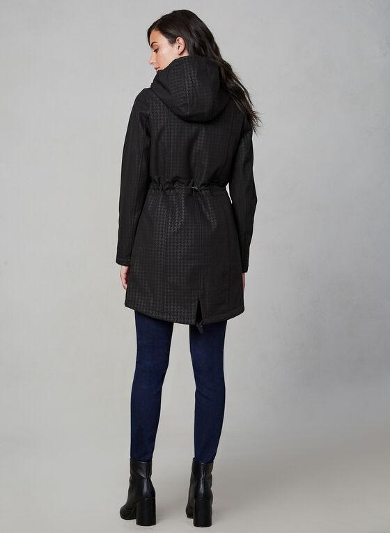 Manteau 3 en 1 à motif pied-de-poule, Noir, hi-res