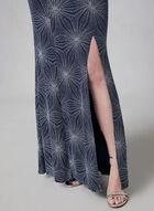 Cachet - Robe pailletée à bretelles, Bleu