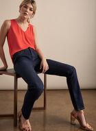 Jeans Olivia à jambe droite, Bleu