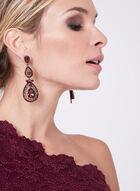Decode 1.8 - One Shoulder Glitter Lace Dress, Red, hi-res