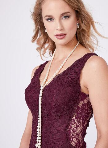 Floral Lace Mermaid Dress, , hi-res