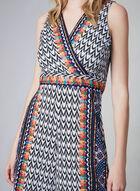 Aztec Print Jumpsuit, Black, hi-res
