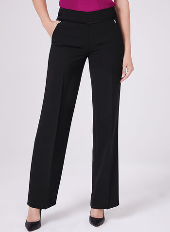 Wide Leg Soho Pants, Black, hi-res