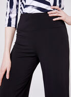 Compli K - Pull-On Wide Leg Crop Pants, Black, hi-res