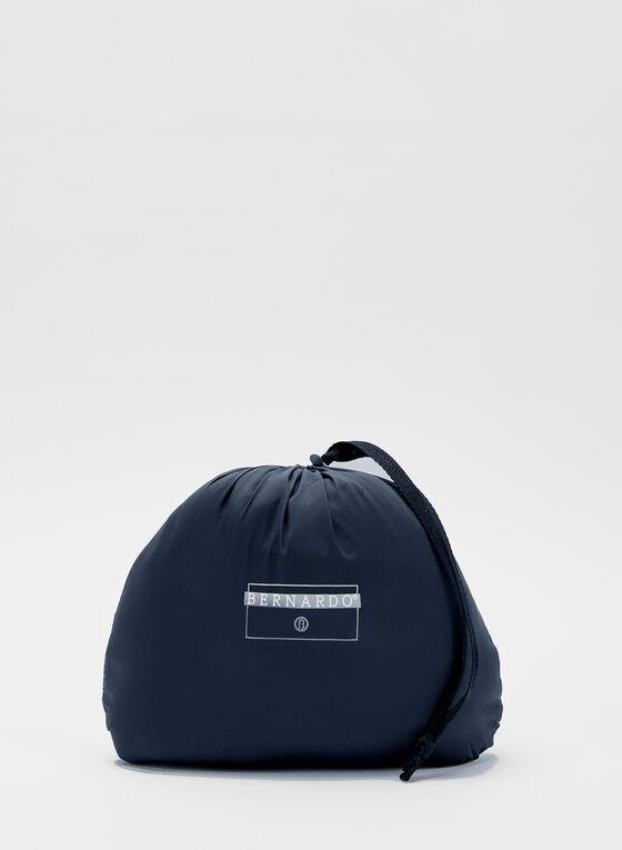Bernardo - Manteau mi-long compressible, Bleu, hi-res