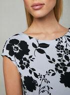 Haut à imprimé floral, Gris, hi-res