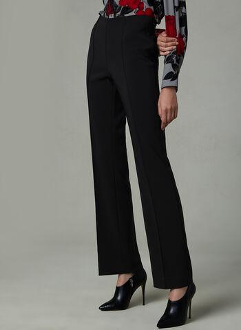 Pantalon Jasmine à jambe évasée, Noir, hi-res