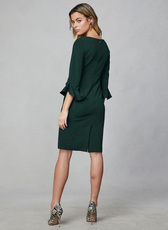 Karl Lagerfeld Paris - Tulip Sleeve Dress, Green