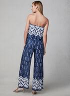 Strapless Jumpsuit, Blue, hi-res