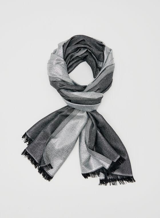 Calvin Klein – Metallic Fibre Wrap, Silver, hi-res
