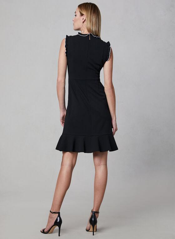 Karl Lagerfeld Paris - Ruffle Dress, Black