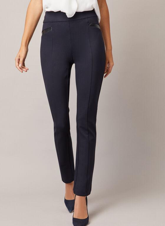 Madison Slim Leg Pants, Blue