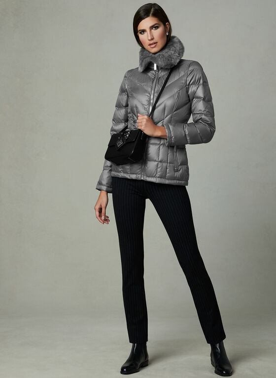 Kenneth Cole - Down Coat, Grey, hi-res