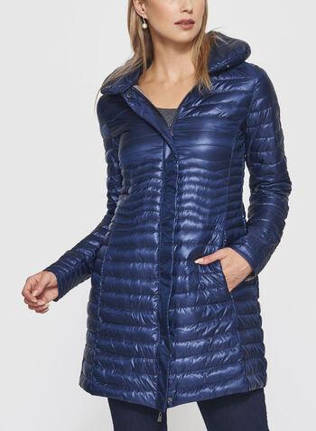 Nuage - Lightweight Packable Down Coat, Blue, hi-res