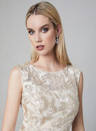 Alex Evenings - Embroidered Mermaid Gown, Off White, hi-res