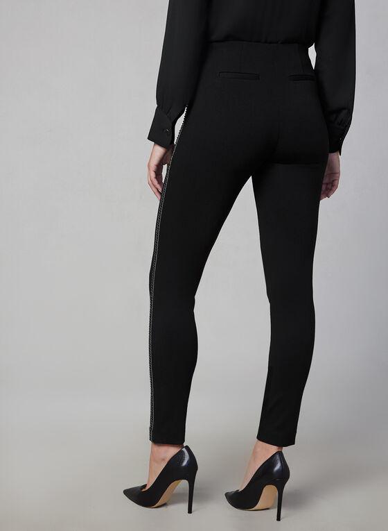 Ponte de Roma Slim Leg Pants, Black