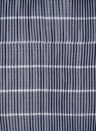 Foulard léger plissé, Bleu
