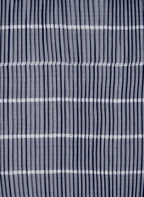Pleated Lightweight Scarf, Blue