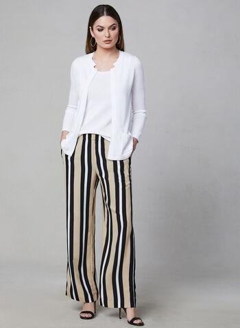 Alison Sheri - Sleeveless Knit Top, White, hi-res