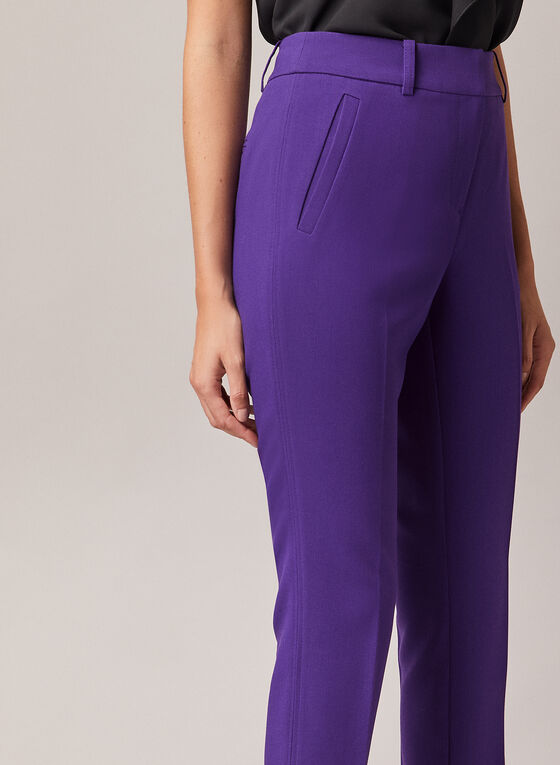 Giselle Slim Leg Pants, Purple