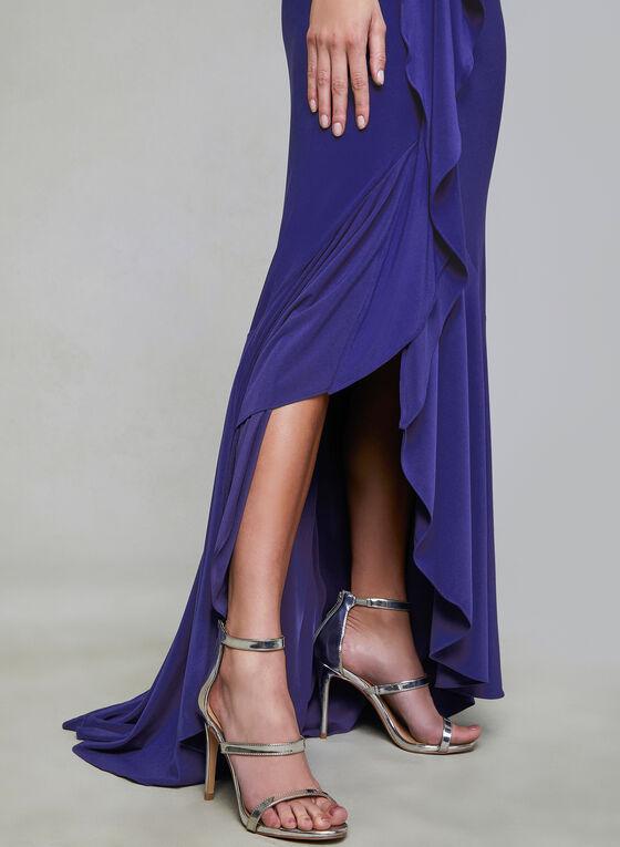 Adrianna Papell - Jersey Dress, Blue, hi-res