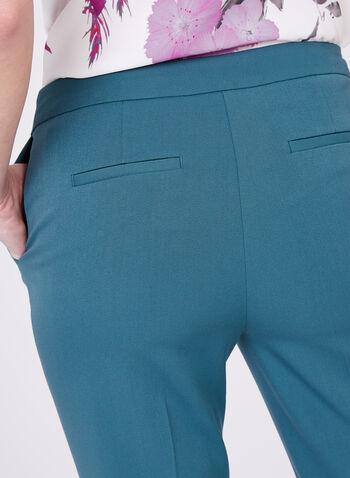 Pantalon longueur cheville à jambe étroite, Bleu, hi-res
