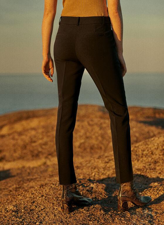 Giselle Slim Leg Pants, Black