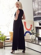 Joseph Ribkoff - Belted Wide Leg Jumpsuit, Black